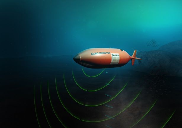 Fugro-autonomous-underwater-vehicle