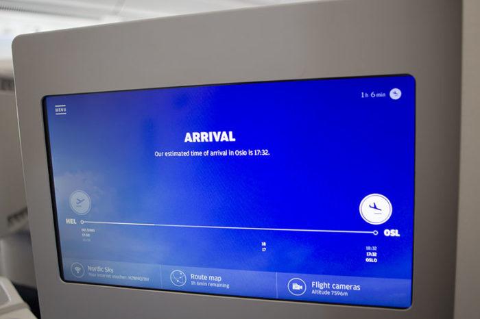 Velkommen til Finnairs nye IFE - Foto: Hangar.no